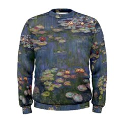 Claude Monet   Water Lilies Men s Sweatshirts by ArtMuseum