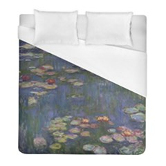 Claude Monet   Water Lilies Duvet Cover Single Side (twin Size) by ArtMuseum