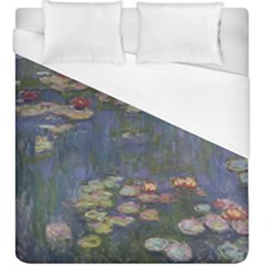 Claude Monet   Water Lilies Duvet Cover Single Side (kingsize) by ArtMuseum