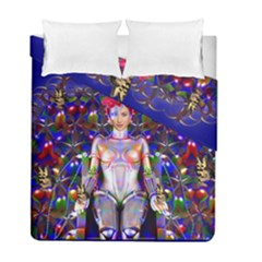 Robot Butterfly Duvet Cover (twin Size) by icarusismartdesigns