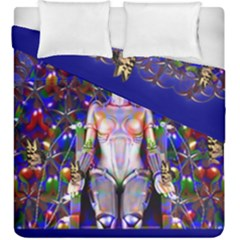 Robot Butterfly Duvet Cover (king Size) by icarusismartdesigns