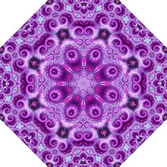 Purple Ecstasy Fractal Artwork Straight Umbrellas