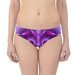 Purple Ecstasy Fractal Artwork Hipster Bikini Bottoms by KirstenStar