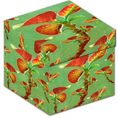 Tropical Floral Print Storage Stool 12   by dflcprints
