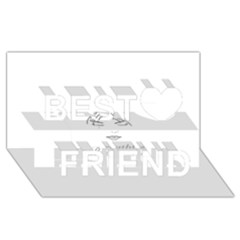 Breathless Best Friends 3d Greeting Card (8x4)  by morbidcandy