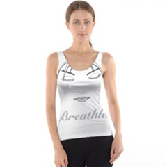 Breathless Tank Tops by morbidcandy