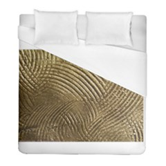 Brushed Gold 050549 Duvet Cover Single Side (twin Size) by AlteredStates