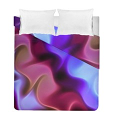 Rippling Satin Duvet Cover (twin Size) by KirstenStar