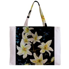 Bright Lilies Zipper Tiny Tote Bags by timelessartoncanvas