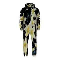 Bright Lilies Hooded Jumpsuit (kids)