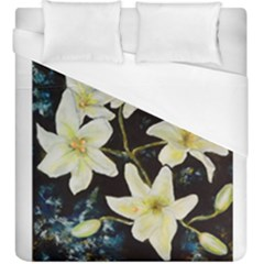 Bright Lilies Duvet Cover Single Side (kingsize)