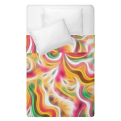 Sunshine Swirls Duvet Cover (single Size) by KirstenStar