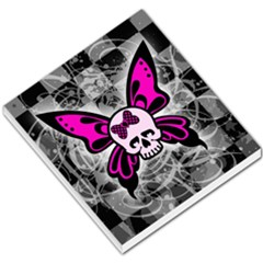 Skull Butterfly Small Memo Pads