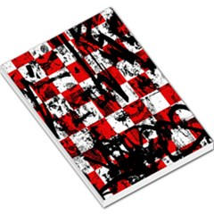 Emo Checker Graffiti Large Memo Pads