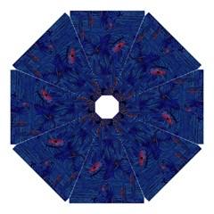 Blue Sphere Straight Umbrellas
