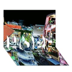 Colour Street Top Hope 3d Greeting Card (7x5)  by InsanityExpressed