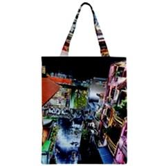 Colour Street Top Zipper Classic Tote Bags