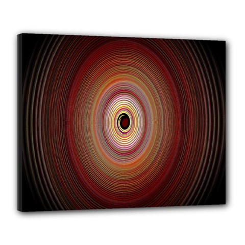 Colour Twirl Canvas 20  X 16  by InsanityExpressed