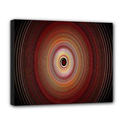 Colour Twirl Deluxe Canvas 20  X 16   by InsanityExpressed