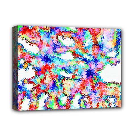 Soul Colour Light Deluxe Canvas 16  X 12   by InsanityExpressed