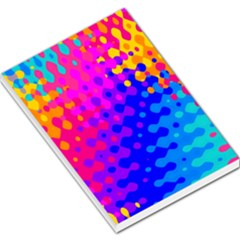 Totally Trippy Hippy Rainbow Large Memo Pads