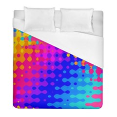 Totally Trippy Hippy Rainbow Duvet Cover Single Side (twin Size) by KirstenStar