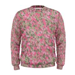 Pinkbunnyflage Men s Sweatshirts