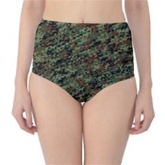 Horseflage High Waist Bikini Bottoms