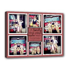12x16 fireman - Canvas 16  x 12  (Stretched)
