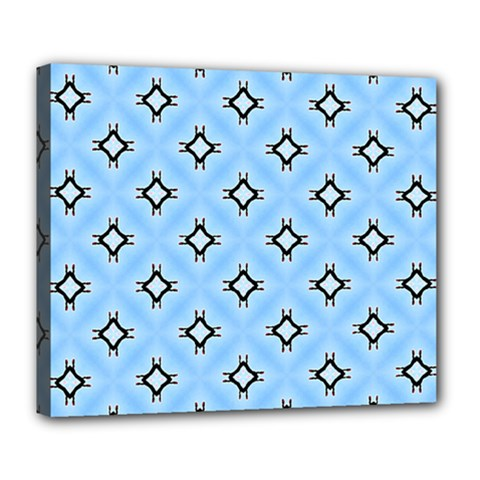 Cute Pretty Elegant Pattern Deluxe Canvas 24  X 20