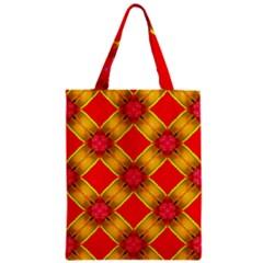 Cute Pretty Elegant Pattern Zipper Classic Tote Bags by creativemom