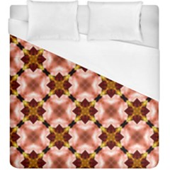 Cute Pretty Elegant Pattern Duvet Cover Single Side (kingsize) by creativemom