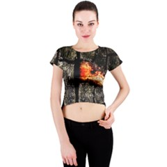 Change Crew Neck Crop Top by InsanityExpressedSuperStore
