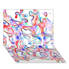 Soul Colour Light Hope 3d Greeting Card (7x5)  by InsanityExpressedSuperStore