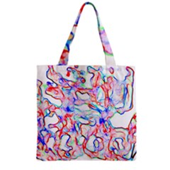 Soul Colour Light Grocery Tote Bags by InsanityExpressedSuperStore