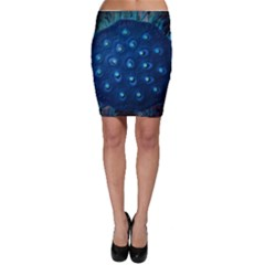 Blue Plant Bodycon Skirts by InsanityExpressedSuperStore