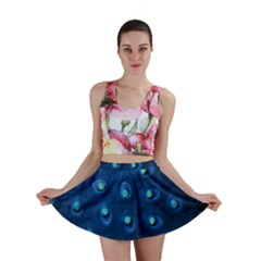 Blue Plant Mini Skirts by InsanityExpressedSuperStore