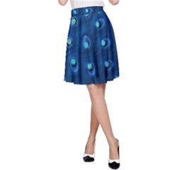 Blue Plant A Line Skirts by InsanityExpressedSuperStore