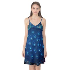 Blue Plant Camis Nightgown