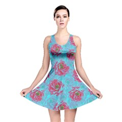 Rose Reversible Skater Dresses by olgart