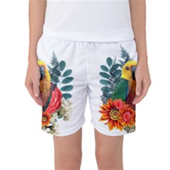 Parrot Women s Basketball Shorts by infloence