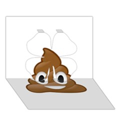Poop Clover 3d Greeting Card (7x5)  by redcow