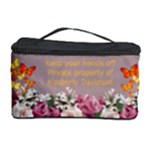 Roses and Butterfly Cosmetic storage case
