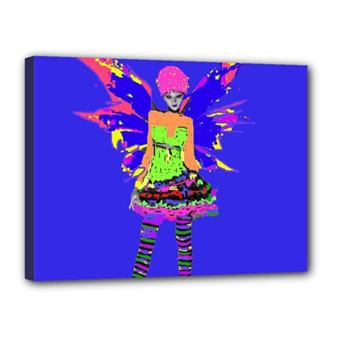 Fairy Punk Canvas 16  X 12  by icarusismartdesigns