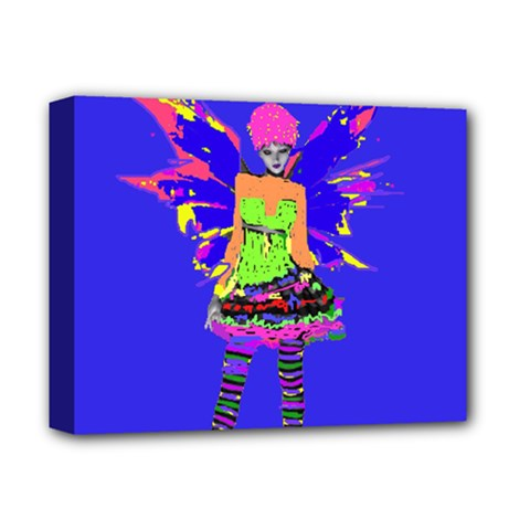 Fairy Punk Deluxe Canvas 14  X 11  by icarusismartdesigns