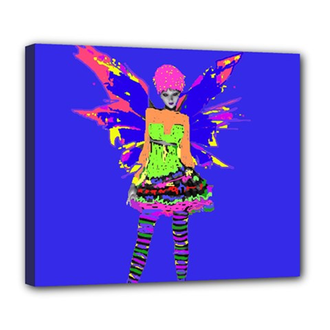 Fairy Punk Deluxe Canvas 24  X 20   by icarusismartdesigns