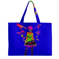 Fairy Punk Zipper Tiny Tote Bags by icarusismartdesigns