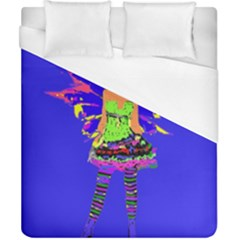 Fairy Punk Duvet Cover Single Side (double Size) by icarusismartdesigns