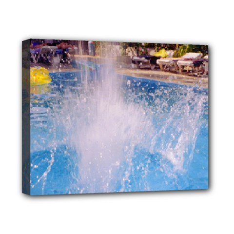 Splash 3 Canvas 10  X 8  by icarusismartdesigns