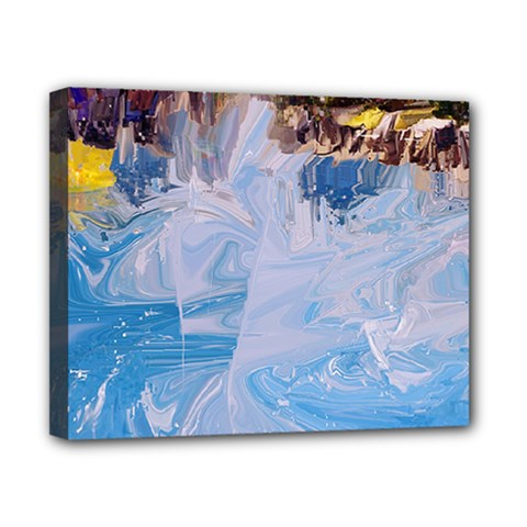 Splash 4 Canvas 10  X 8  by icarusismartdesigns